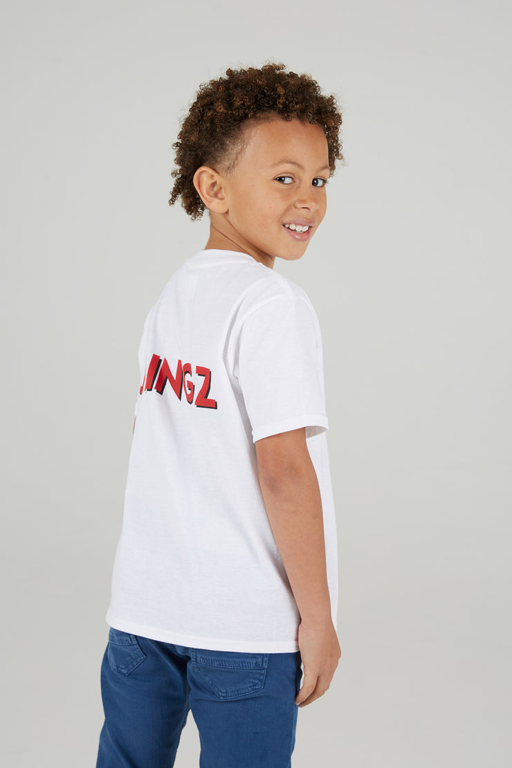 JLINGZ Kids Shadow Print T-Shirt
