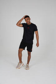 Black Co-Ord Shorts