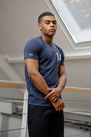 JLINGZ Line Up NO.14 Tee | Navy
