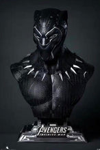 Load image into Gallery viewer, (Preorder) Queen Studios Black Panther Bust 1:1 @ $1060 for bank payment