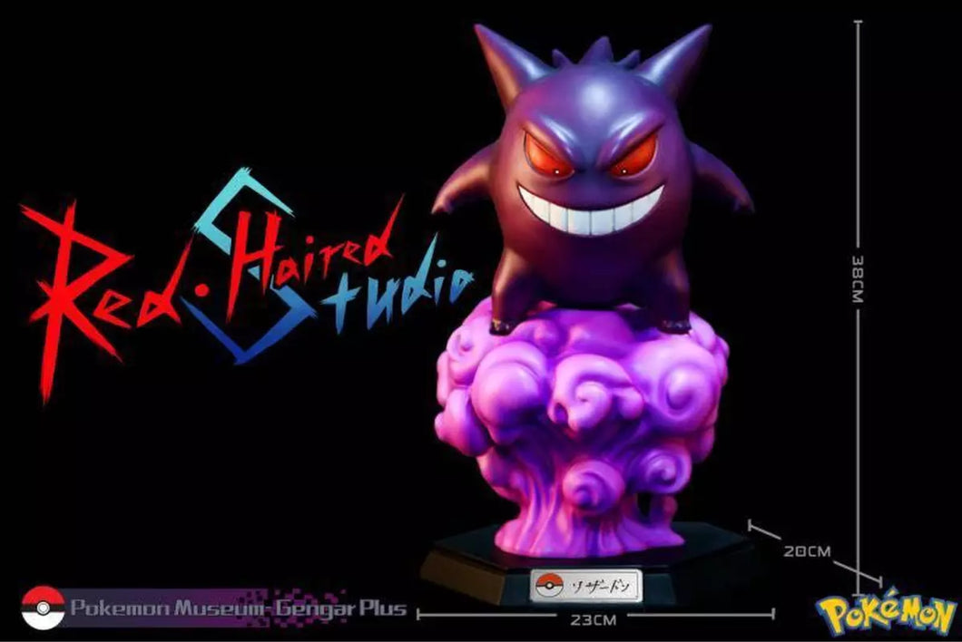 (Preorder) Red Haired Studios Gengar (Solid Ver)