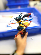 Load image into Gallery viewer, (Preorder) N2 Studio Mega Greninja vs Mega Lucario