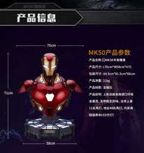 Load image into Gallery viewer, (Preorder) CM Studio Ironman MK50 Bust 1:1