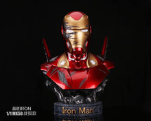 Load image into Gallery viewer, (Preorder) Ping Jiang Iron- Ironman MK 50 1:1 Bust (Damage Version)