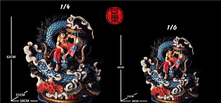 (Preorder) Cola Studio Luffy and Kaido Wano Arc 1:6 @ $500 Bank payment