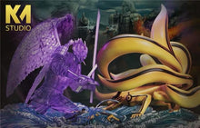 Load image into Gallery viewer, (Preorder) KM Studio Ultimate Battle Sasuke Susanoo Vs Naruto Kurama @ $535 for bank payment