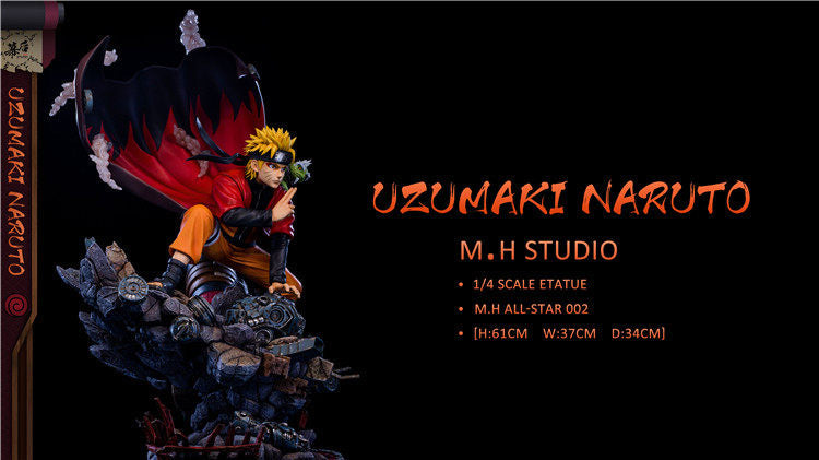 (Preorder) MH Studio Naruto of All Star Exclusive Set