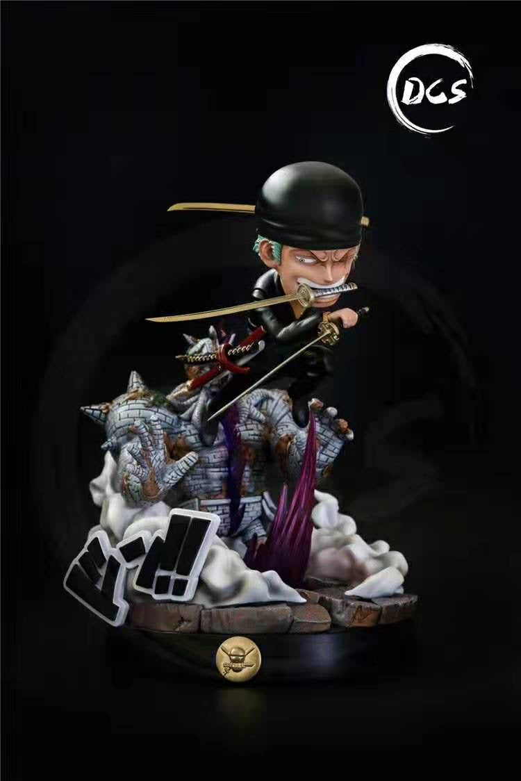 (Preorder) Dream Chase Studio SD Roronoa Zoro Vs Pica @$190 for bank payment