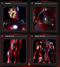 Load image into Gallery viewer, (Preorder) CM Studio Ironman MK46 Scale 1/2