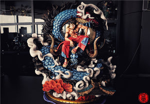 (Preorder) Cola Studio Luffy and Kaido Wano Arc 1:4 @$840 for bank payment