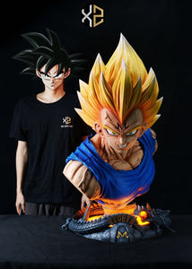 (Preorder) XS Studios Dragon Ball Vegeta Bust 1:1