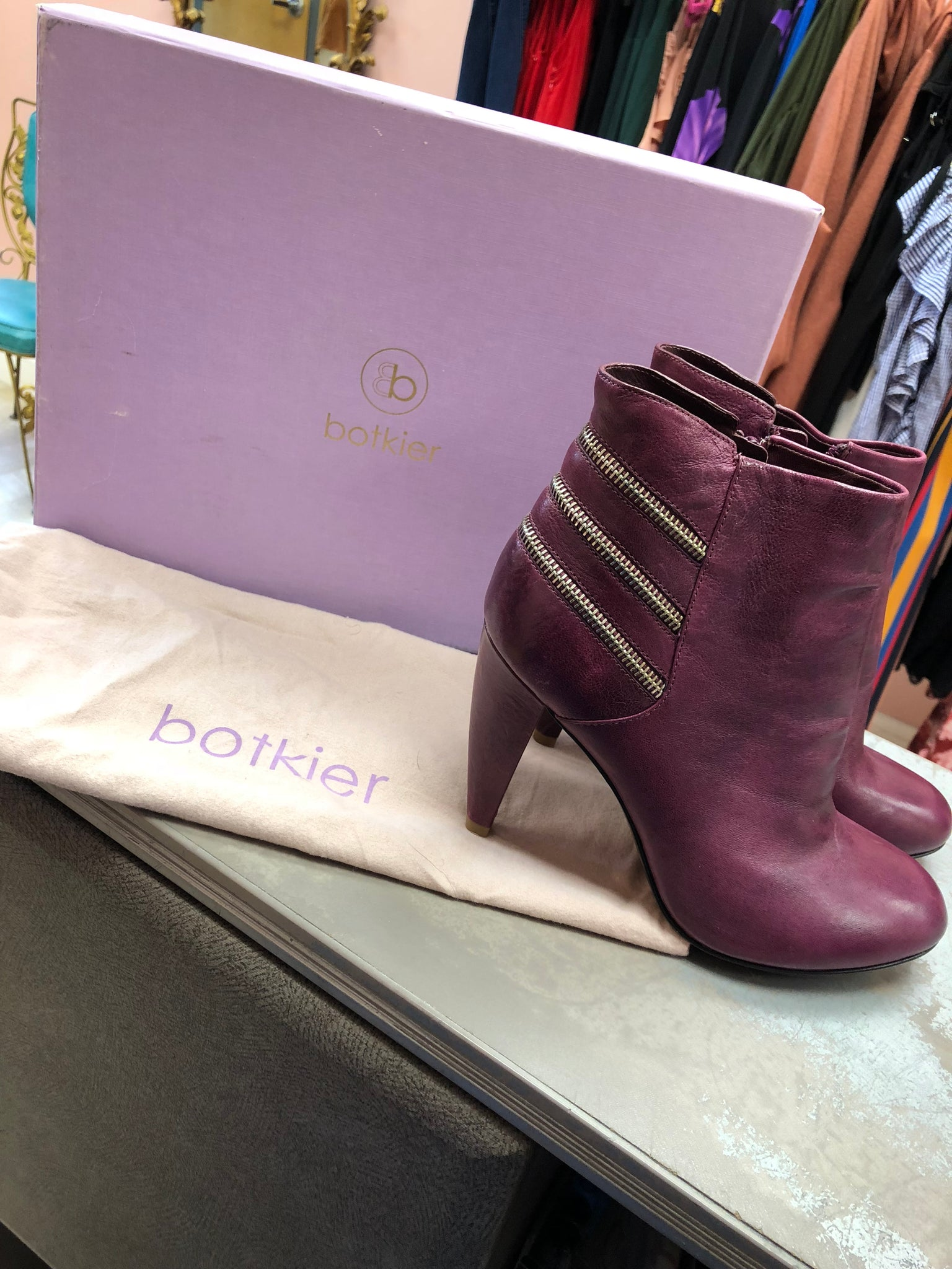 Botkier Booties Size 39.5 US Size 9