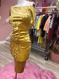 Lavish Gold Dress
