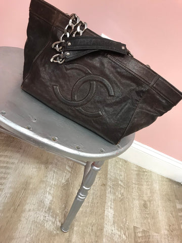 Chanel Rustic Tote Bag