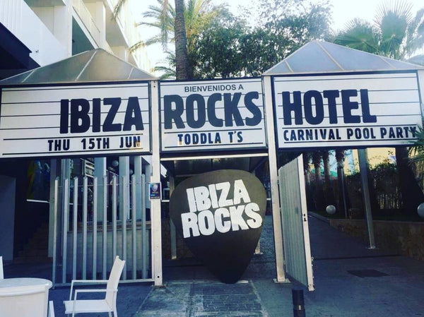 Ibiza Rocks Stage Design