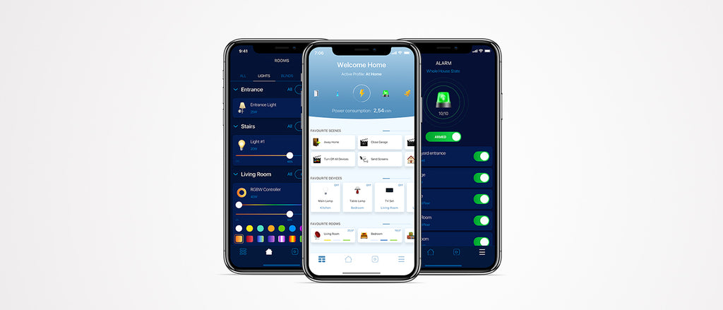 iPhone control for lighting