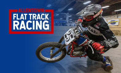 Allentown Indoor Flat Track Races