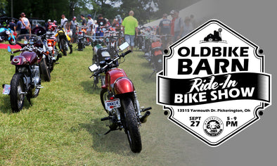 Old Bike Barn ride-in bike show