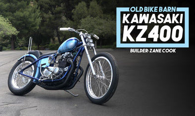 Old Bike Barn's Kawasaki KZ400 Born Free Bike