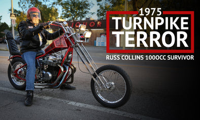 1975 Russ Collins 1000TT CB750 Chopper