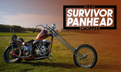 1961 HD Survivor Panhead Chopper