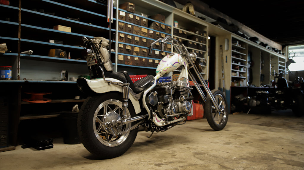 1977 Honda Cb750 Chopper Old Bike Barn