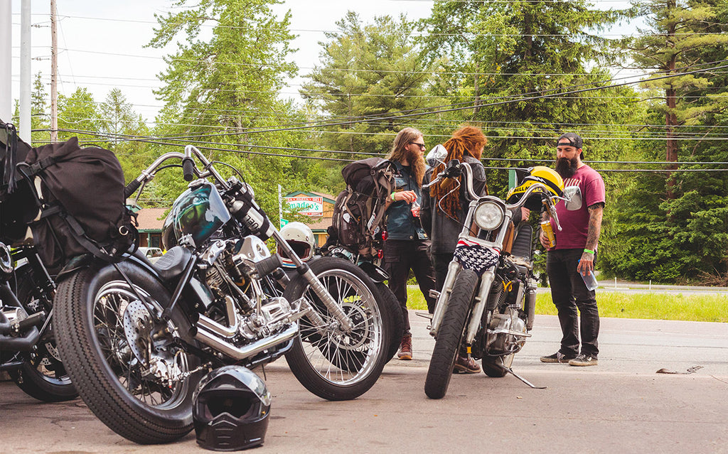 Motorcycle group prepping