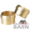 Brass Exhaust Tips - 1.75""