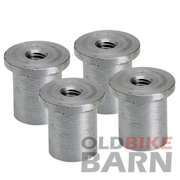 "Tophat Blind Threaded Steel Bung 5/16""-18"