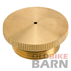 Brass Filler Cap - Vented
