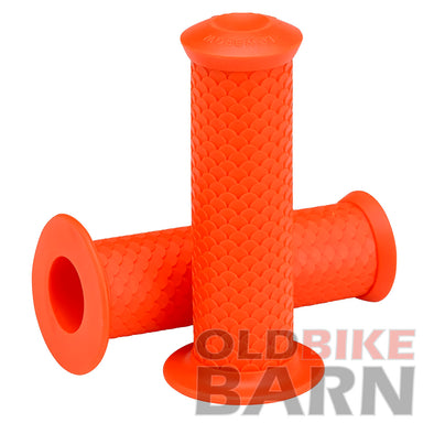 Fish Scale Grips - Orange - 7/8""