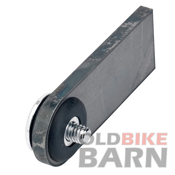 "Rubber Mount Finger Tabs- Flat Head Allen - 1/4"" Thick - Aluminum Washer"