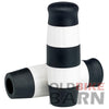 Flying Monkey Grips - Black and White Stripes - 7/8 inch