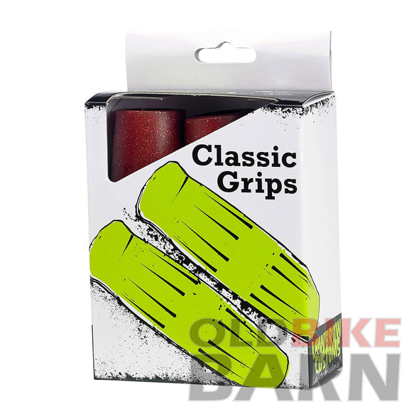 Classic Grips - Metalflake Red - 7/8 inch