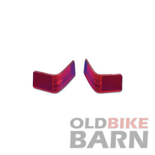 VT 06-13 FLHT Red Brake Tail Lamp Lens Set