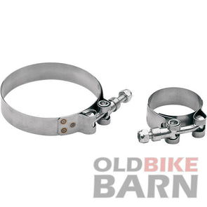 "3.44"" Stainless Exhaust Clamp"