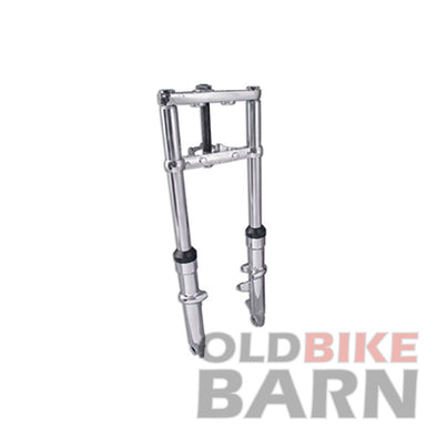 41mm Dual Disc Fork Assembly with Chrome Sliders