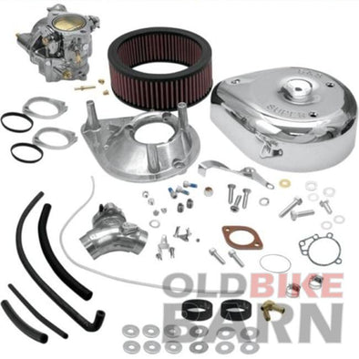 "XL 91-03 S&S 1-7/8"" Super E Carburetor Kit"