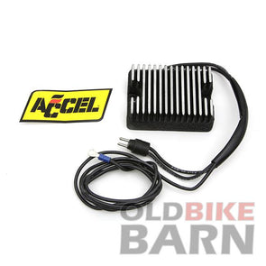 91-93 Accel Voltage Regulator Black 22 Amp