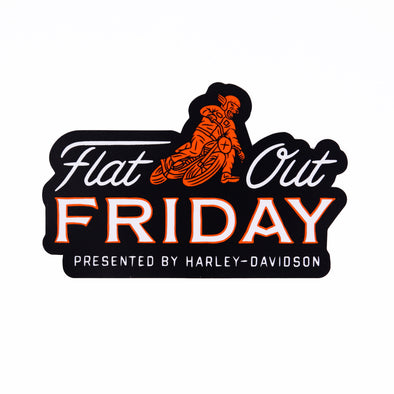 Flat Out Friday Stacked Panther Sticker
