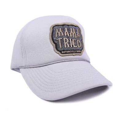 Mama Tried Patch Hat Grey