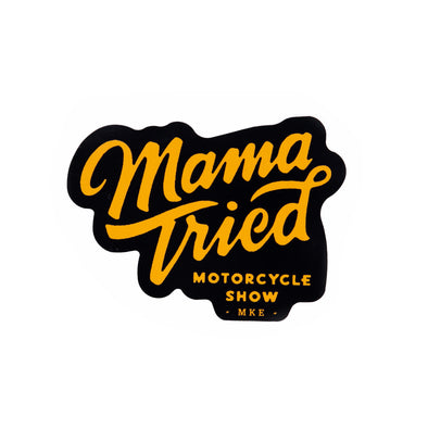 Mama Tried OG Logo Sticker