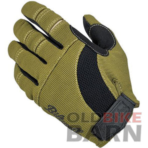 Biltwell Moto Gloves - Olive/Black