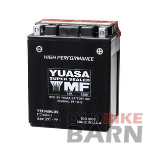 Honda 82-83 CB750SC 78-82 CX500 Battery