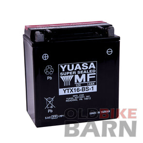 Suzuki 98-11 VL1500 87-11 VS1400GL Battery
