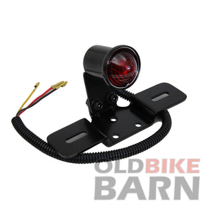 VT Black Round Tail Lamp