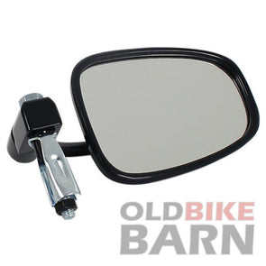 Black Universal Bar End Mirror