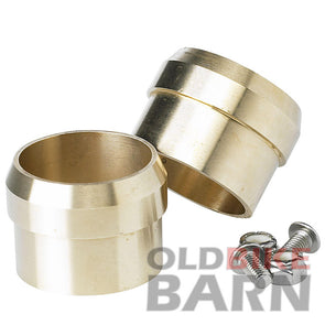 Brass Exhaust Tips For 1.5 Inch OD Pipes