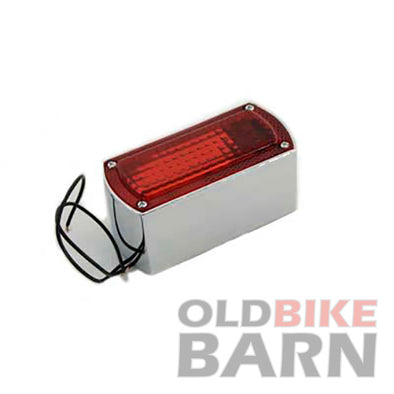 VT Chrome Box Style Tail Lamp