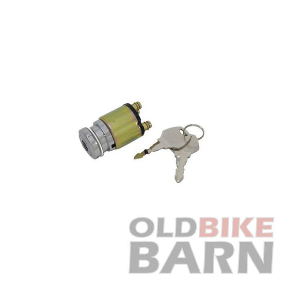 Chrome Ignition Key Switch
